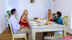 DigitalPlayground – Thanks giving Turkey Toss with (Cherie Deville, Keiran Lee, Olivia Austin) 8 min 720p