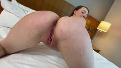 18 year old slut step sister's ass is to big for this bed 8 min 1080p